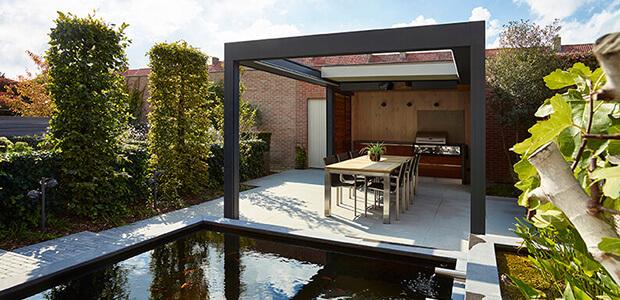 Behaglich Wohnen im Freien: Mit Lamellendach