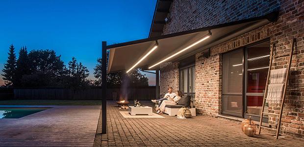 Renson Lapure Terrassen Beleuchtung: Foto Renson