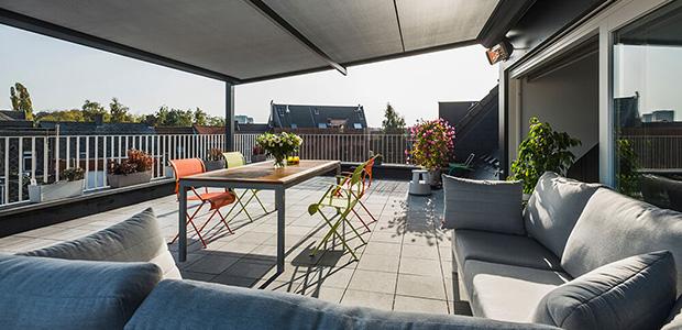 Terrassenüberdachung mit Stil – Lapure von Renson