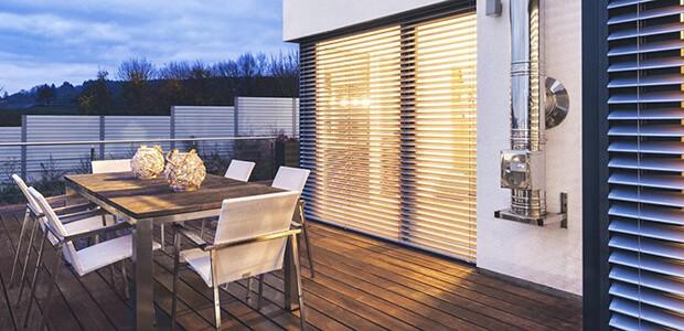 Energiekosten sparen mit einer Kunststoff-Haustür von Schüco, Foto: Schüco