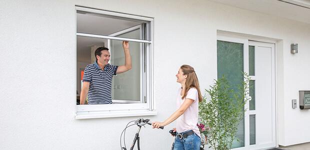 MHZ Insektenschutz für Fenster Rollo, Foto: MHZ