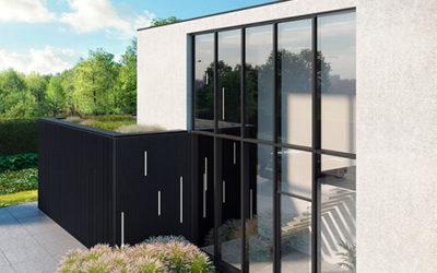 Edle Fassadenverkleidung: Renson LINARTE