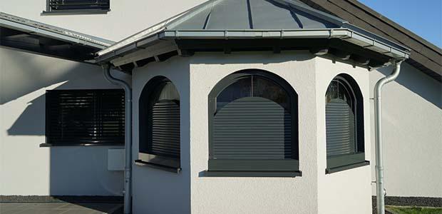 Schanz Rollladen für halbrunde Fenster, Foto: Schanz
