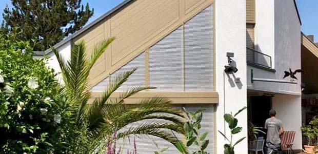 Schanz Rollladen für schräge Fenster, Foto: Schanz