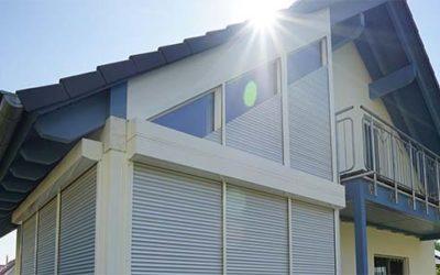 Rollläden für schräge Fenster von Schanz